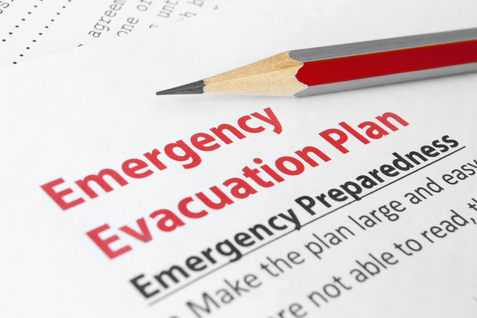 emergency preparedness and response plan template - evacuation planning 101 ways to survive