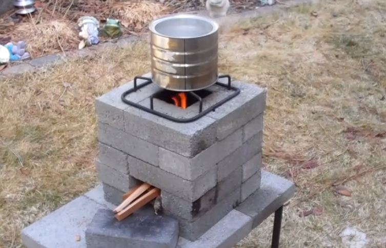 how to build a better brick rocket stove for 10 101