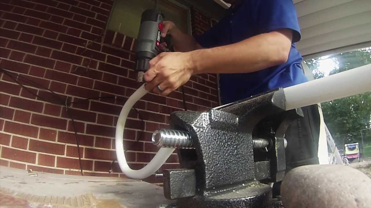 How to bend a pipe
