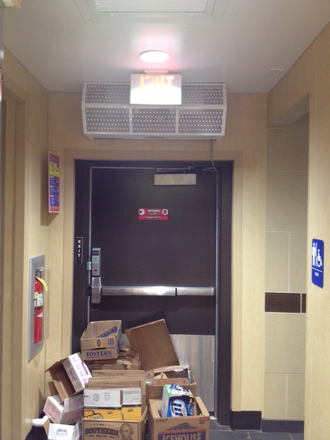 Blocked Access Door Key : Getting out alive clearly understanding emergency exits